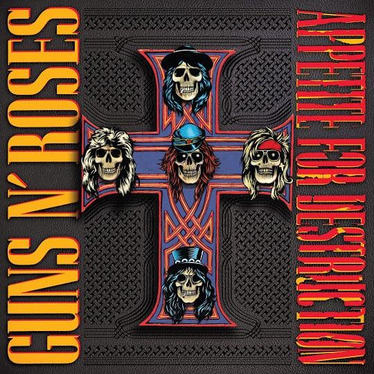 Guns N' Roses Reedita Appetite For Destruction