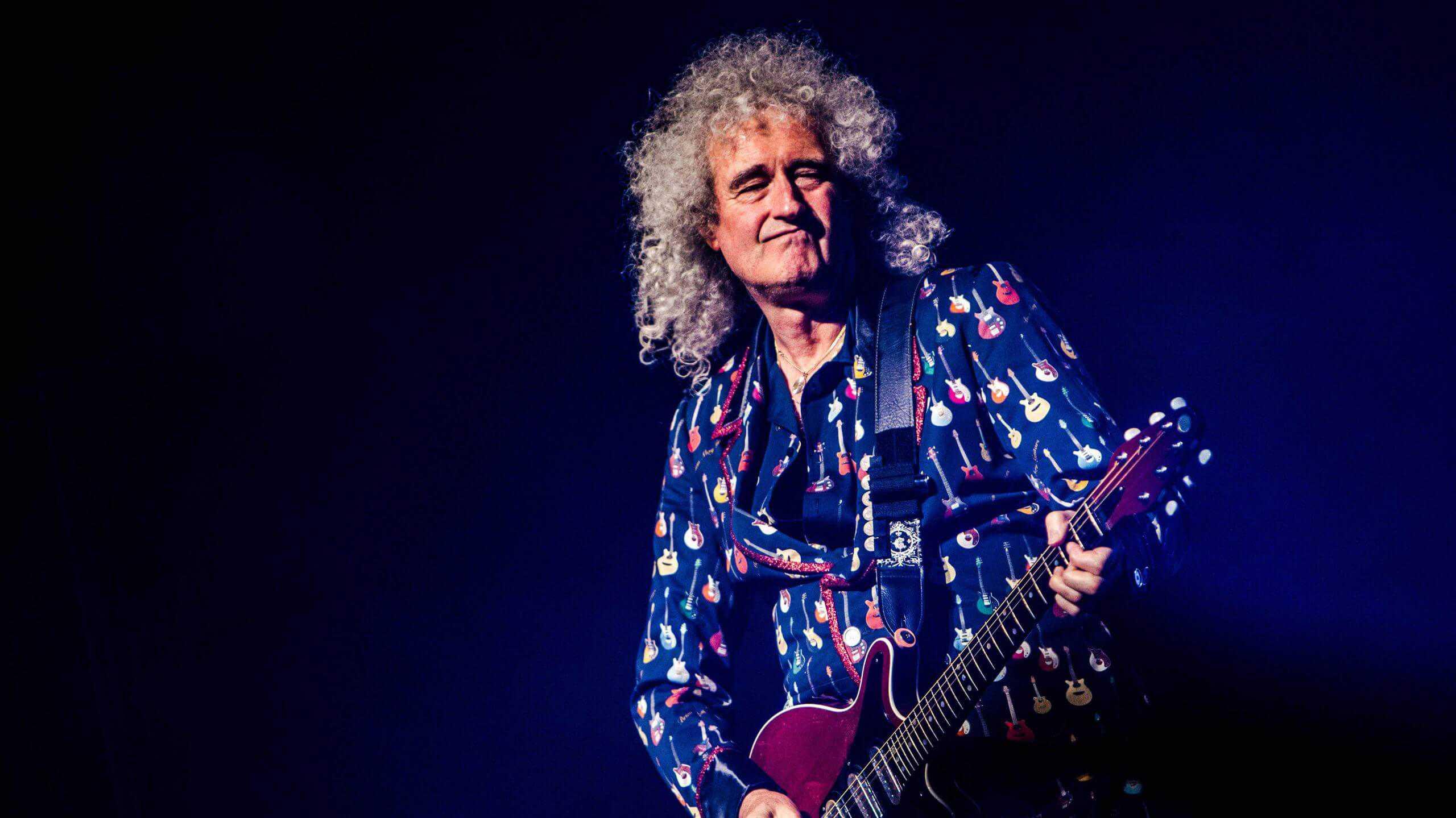 Brian May lanzará una línea de guitarras junto con Arielle.