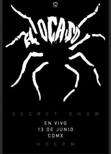 Flyer de concierto de Tito