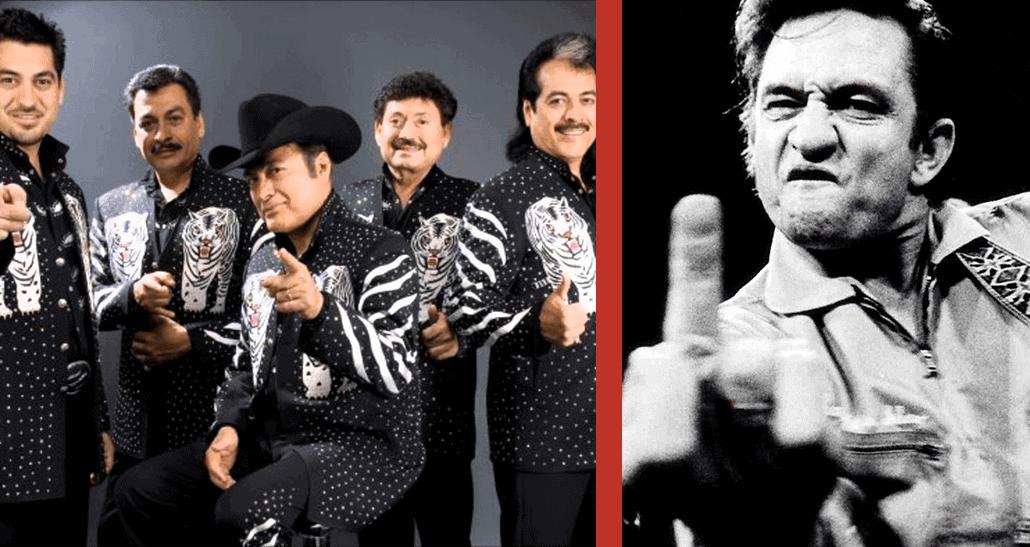 Los Tigres del Norte rinden homenaje a Johnny Cash