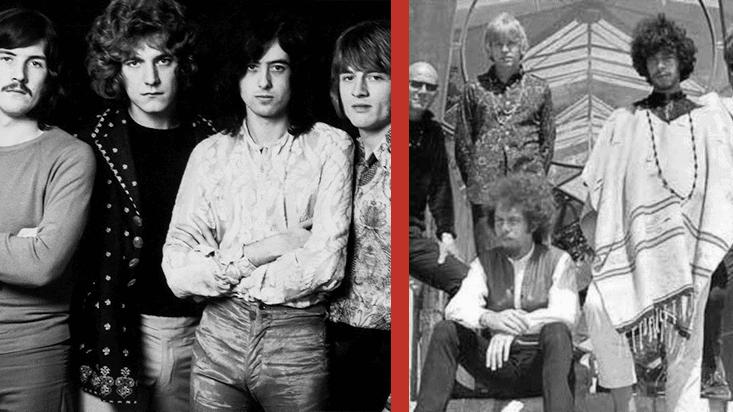 Miembros de Linkin Park, Smashing Pumpkins y Korn se unen a Led Zeppelin