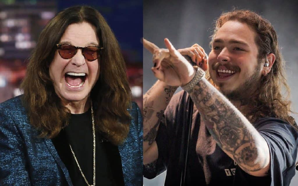 Ozzy Osbourne sera parte del nuevo disco de Post Malone