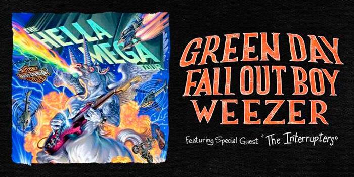 Green Day, Weezer y Fall Out Boy de gira juntos