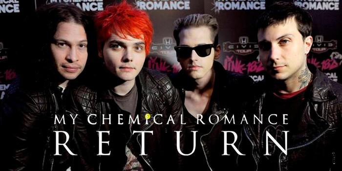 My Chemical Romance está de vuelta