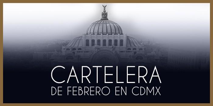 Cartelera de conciertos de CDMX y Estado de México