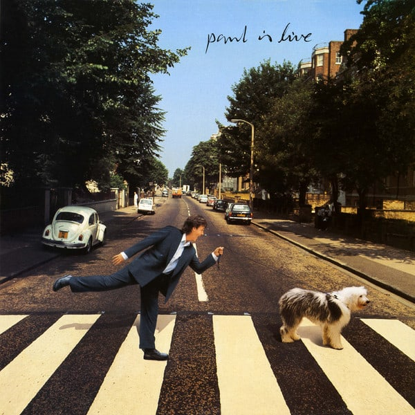Portada del álbum Paul is Live de Paul McCartney