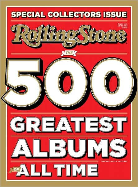 Rolling Stone 500 greatest albums all time